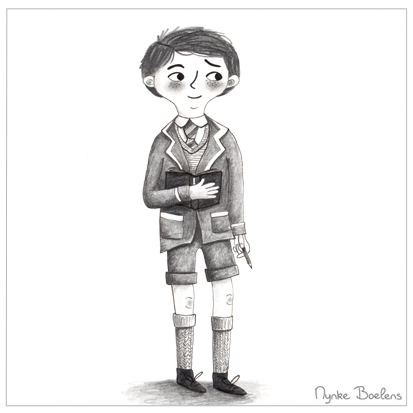 teenager-old-school-nynke-boelens-illustratie
